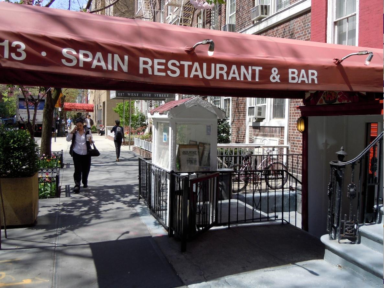 Spain 113 West 13th Street Espanyu